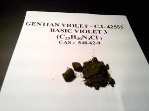 fiolet gencjanowy