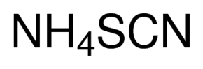 tiocyjanian amonu